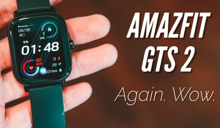 Amazfit GTS 2 Smart Watch Comes With AMOLED Display !!